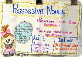 possessive nouns step into 2nd grade
