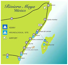 map of mexico resorts map of mexico resorts major tourist attractions maps