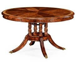 Antique Mahogany Dining Room Furniture by Mahogany And Satinwood Round To Oval Dining Table