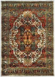 Capel Area Rug by Sphinx Oriental Weavers Area Rugs Sedona Rugs 6382b Red Sedona