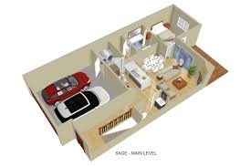 townhomes floor plans