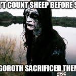 Black Metal Meme Generator - disappointed death metal guy meme generator imgflip