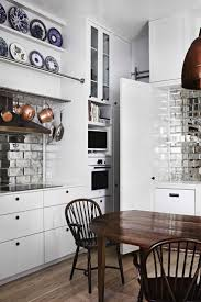 Mirror Backsplash In Kitchen by Simple 40 Mirror Tile Kitchen Interior Decorating Design Of Best