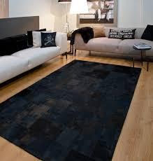 Black Modern Rug Black Contemporary Rugs Home Design