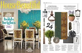 Housebeautiful Magazine by House Beautiful Magazine The Best Buzz Seibert U0026 Rice