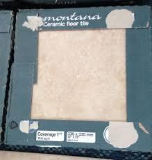 10 X 6 Shed Homebase by 6sq Metres Of Homebase Montana Beige Ceramic Tiles U0026 3 Tubs Of