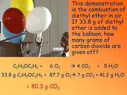 balloon o grams conservation of mass and reactions objective 4 tek 8 the student