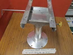 Aluminum Pedestal Aluminum Sliding Pedestal Boat Seat Mount Mounting Base