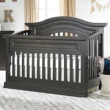 Dark Wood Cribs Convertible by Maximo Convertible Crib In Dark Roast