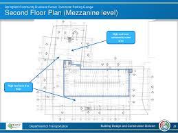 Parking Building Floor Plan Springfield Community Business Center Commuter Parking Garage Design U2026