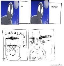 Candlejack Meme - i am disappoint son i am disappoint comics i am disappoint