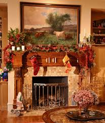 decorate living room for christmas granite fireplace surround