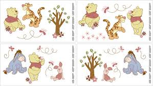 amazon com disney wall decals pooh delightful day discontinued amazon com disney wall decals pooh delightful day discontinued by manufacturer nursery decor products baby