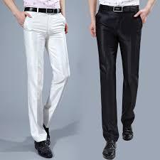online shop men suit pants 2017 slim fit mens dress pants korean