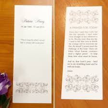 Funeral Booklets Quality Funeral Booklets Or Cards Fine Invitations Sydney