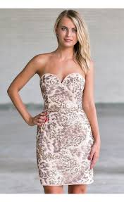 party dresses new years beige sequin strapless cocktail dress sequin new years