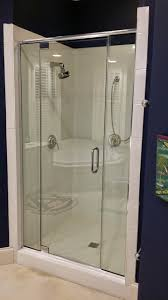 Hinged Glass Shower Door Coolest Hinged Glass Shower Doors F60 In Wow Home Designing Ideas