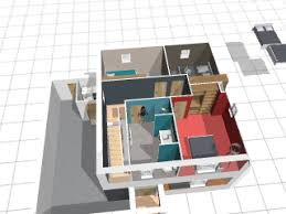 chambre en 3d plan maison 3d logiciel gratuit pour dessiner ses plans 3d