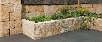 emejing steinmauer garten mediterran images home design ideas