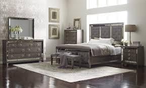 lenox upholstered glam bedroom set by avalon furniture home