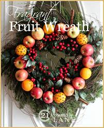 21 rosemary how to make your own fragrant fruit wreath