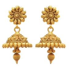 design of gold earrings with design buy jfl jewellery for less golden one gram gold plated necklace