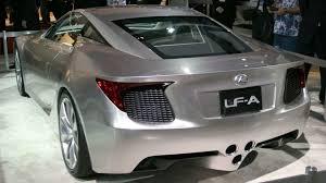 lexus lfa concept lexus lf a supercar still alive despite cost cuts motor1 com photos