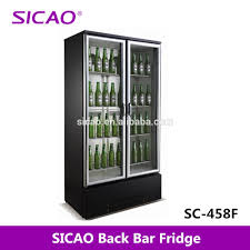 sicao sc 458f 2 doors type commercial refrigerator glass door bar
