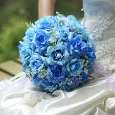 blue flowers for wedding wedding flowers cheap wedding bouquets bridal flowers