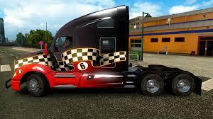 kenworth bus kenworth t680 truck interior from ats v1 0 euro truck simulator