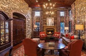 Million Tuscan Inspired Mansion In Cherry Hills Village CO - Tuscan family room