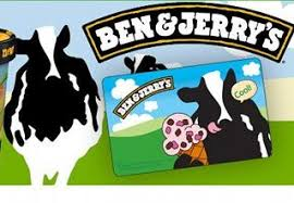 Ben And Jerry S Gift Card - ben and jerry s 10 gift card for only 5 while supplies last