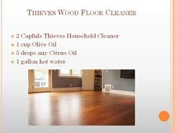 thieves wood floor cleaner essential recipes