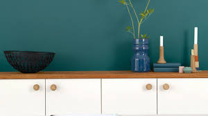 brighten white kitchen with teal colour dulux
