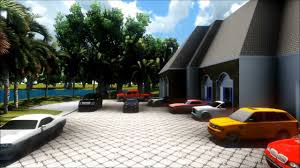sketchup dream house with dream garage youtube