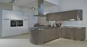 handleless kitchen cabinets image result for standard curved worktop on square units kitchen