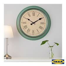 clock buy ikea large wall clock teal skovel for sale buy online colombo sri