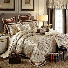 Jacquard Bedding Sets Collection Bedding Sets King Size Bed In A Bag Silk Satin