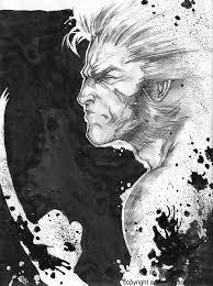 wolverine sketch by giuseppedigiacomo on deviantart