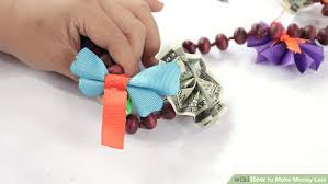 Where To Buy Candy Leis How To Make Money Leis 13 Steps With Pictures Wikihow