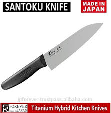 best santoku knife titanium hybrid kitchen knife for home and