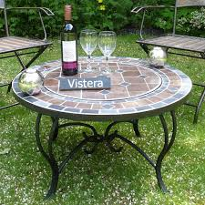 amazon gas fire pit table promising firepit table funchal mosaic fire pit table amazon co uk