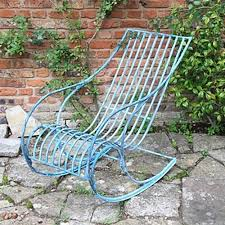 Garden Rocking Chair Uk Buy Verdigris Garden Rocking Chair Burford Garden Company