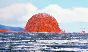 what are lava ls made of hawaii volcano eruption terrifying kilauea lava dome bursts 70ft