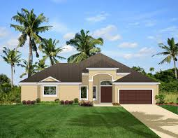 home plan with courtyard and guest cabana 82034ka