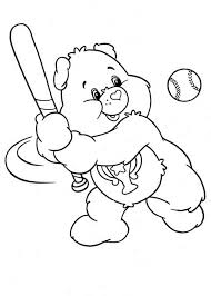 picture tenderheart bear care bear colouring happy