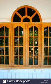 glass windows of a modern house kerala stock photo royalty free