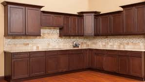 Shop Rta Cabinets Tuscan Cocoa Kitchen Cabinet Depot