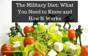 3 day military diet substitutions archives language of desires