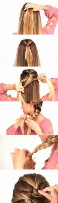 how to braid extensions into your own hair easy way to french braid your own hair hair do s for kids